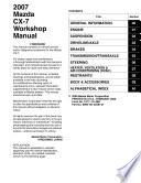 Mazda Cx 7 2007 Workshop Service Manual Repair