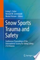 Snow Sports Trauma And Safety
