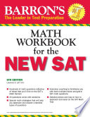Math Workbook For The New Sat