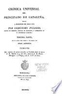 Cronica universal del principado de Cataluña