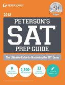 SAT Prep Guide 2018