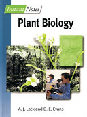 Instant Notes in Plant Biology