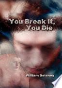 You Break It  You Die