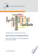 Sport als Thema im Deutschunterricht