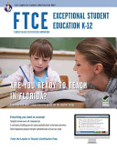 Ftce Exceptional Student Education K 12 Book   Online