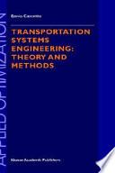 Transportation Systems Engineering