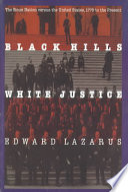 Black Hills White Justice