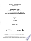Geological Survey Of Canada Open File 2133