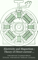 Electricity and magnetism ; Theory of direct-current generators and motors ; Direct-current generators ; Direct-current motors ; Resistance measurements ; Direct-current measuring instruments ; Alternating currents ; Alternators ; Transformers ; Alternating-current rectifiers ; Alternating-current motors and synchronous converters ; Industrial motor applications ; Storage batteries