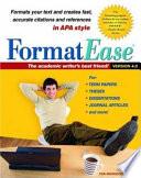 FormatEase, Version 4. 0
