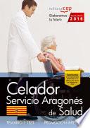 Celador del Servicio Aragon  s de Salud  SALUD  promoci  n interna   Temario y test