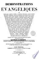 Démonstrations évangéliques de Tertullien, Origène, Eusèbe, ...