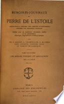 M  moires journaux de Pierre de L Estoile  Les belles figures et drolleries de la Ligue