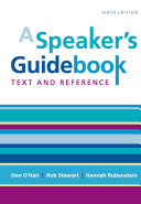 A Speaker's Guidebook Text and Reference