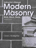 Modern Masonry Instructor s Manual