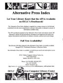 Alternative Press Index