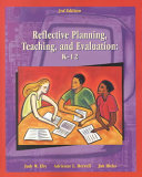 Reflective Planning  Teaching  and Evaluation