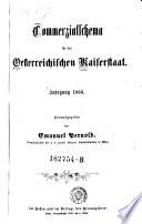 Commerzialschema für den österreichischen Kaiserstaat