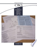 Selected CBO Publications Related to Health Care Legislation  2009 2010
