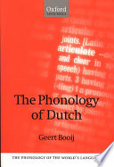 The Phonology of Dutch