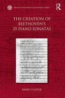 Book The Creation of Beethoven's 35 Piano Sonatas