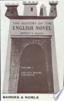 The History of the English Novel