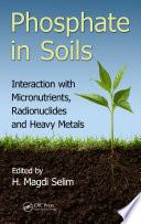 Phosphate in Soils