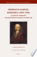 Hermann Samuel Reimarus  1694 1768