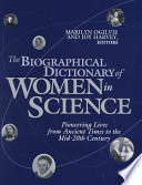 The Biographical Dictionary of Women in Science: L-Z