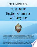Just Right  English Grammar for Everyone