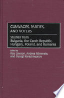 Cleavages, Parties, and Voters