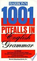 Barron s 1001 Pitfalls in English Grammar