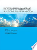 Improving Performance and Enhancing Competitiveness  In Search on Innovative Solutions