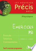 Physique PSI Exercices