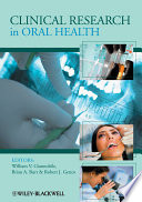 Clinical Research in Oral Health
