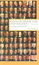 Constitutional Law and Politics  Civil rights and civil liberties
