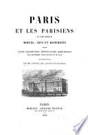 Paris et les Parisiens au XIXe siècle