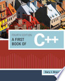 A First Book of C