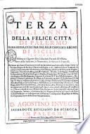 Annali della felice citt   di Palermo  prima sedia  corona del r    e capo del regno di Sicilia