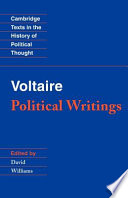 Voltaire  Political Writings