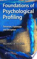 Foundations of Psychological Profiling