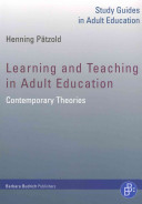 Learning and Teaching in Adult Education
