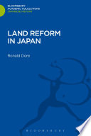 Land Reform in Japan