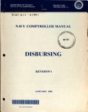 Navy Comptroller Manual