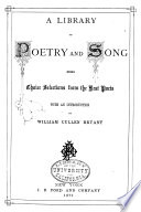 Ebook A Library of Poetry and Song Epub N.A Apps Read Mobile