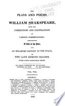 The Plays and Poems of William Shakespeare  Merry wives of Windsor  Troilus and Cressida