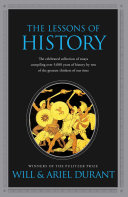 cover img of The Lessons of History