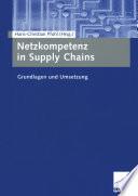 Netzkompetenz in Supply Chains
