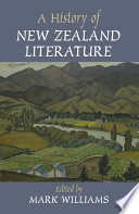 A History of New Zealand Literature Of New Zealand Literature From