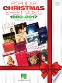 Popular Christmas Sheet Music   1980 2017
